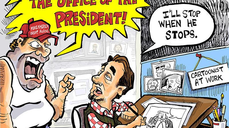 Hands on Wisconsin: Why are political cartoons disrespectful?