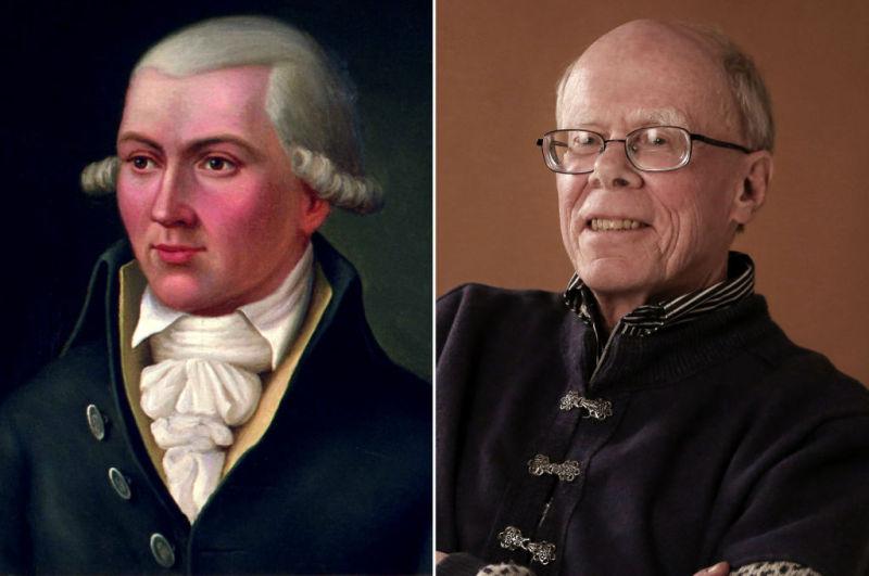 Mashup of Hans C.U. Midelfart and Sigurd Midelfort