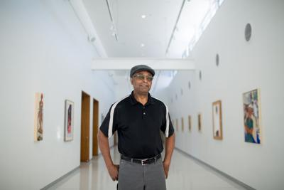 Artist Jerry Butler is making his mark
