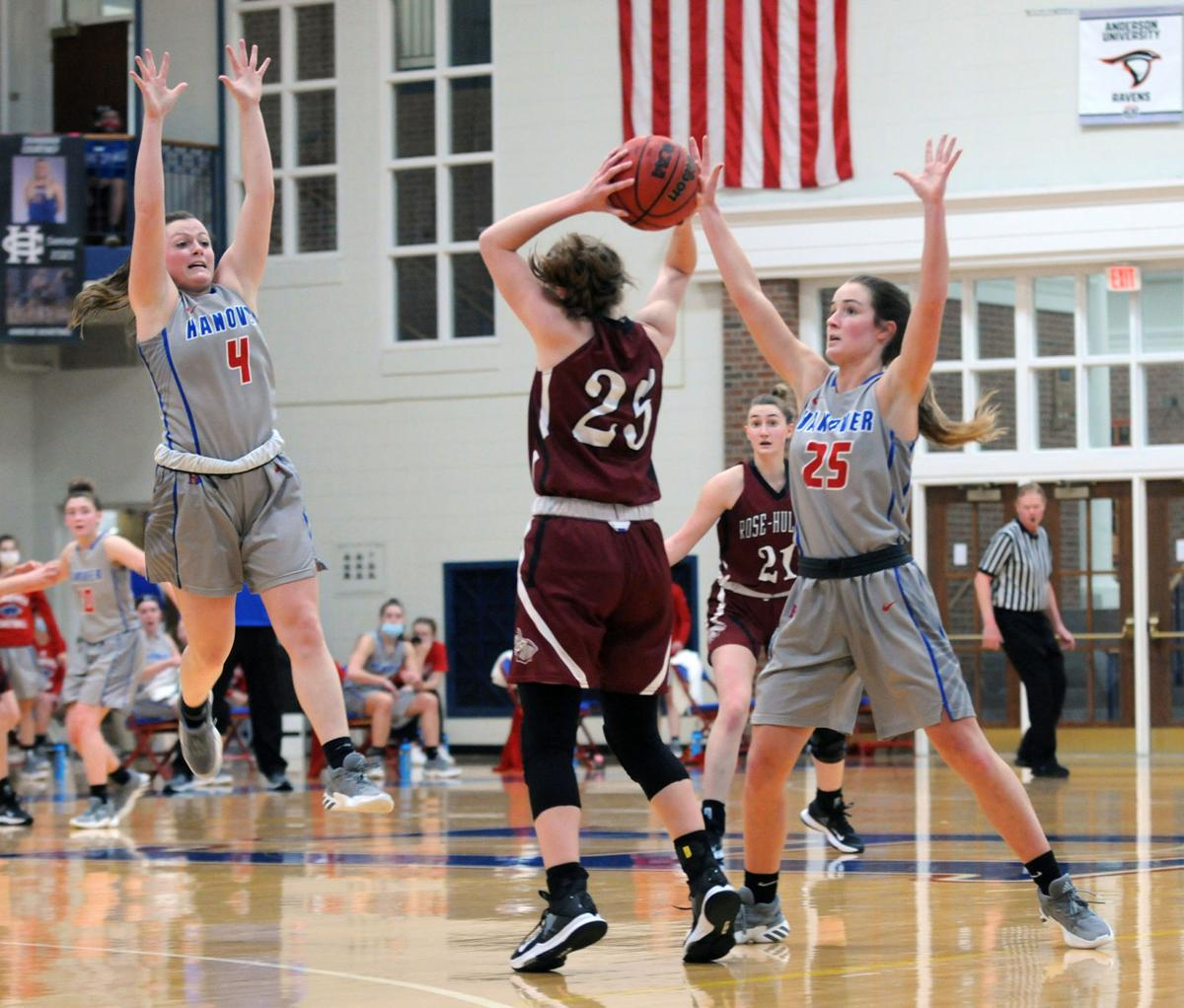 Hanover women open HCAC Tourney with 56-40 win over Rose | Sports | madisoncourier.com