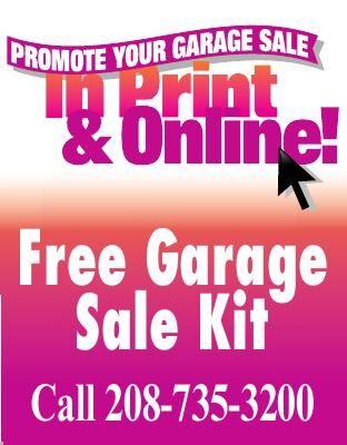 Free Garage Sale Kit