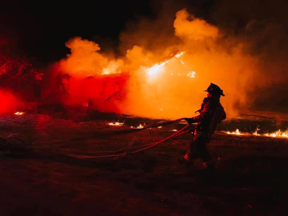 Burley fire