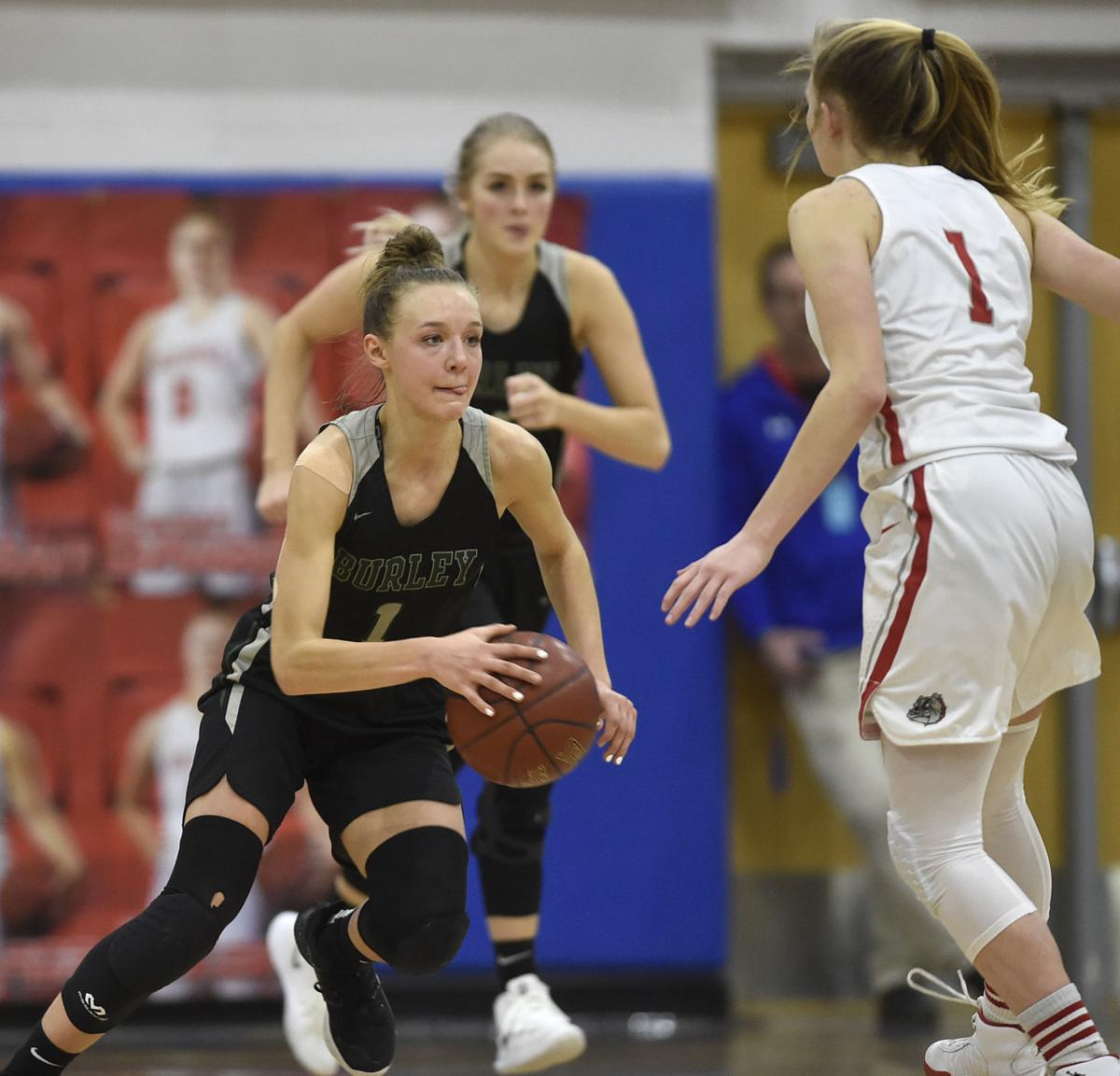Girls State Basketball - Burley vs. Sandpoint