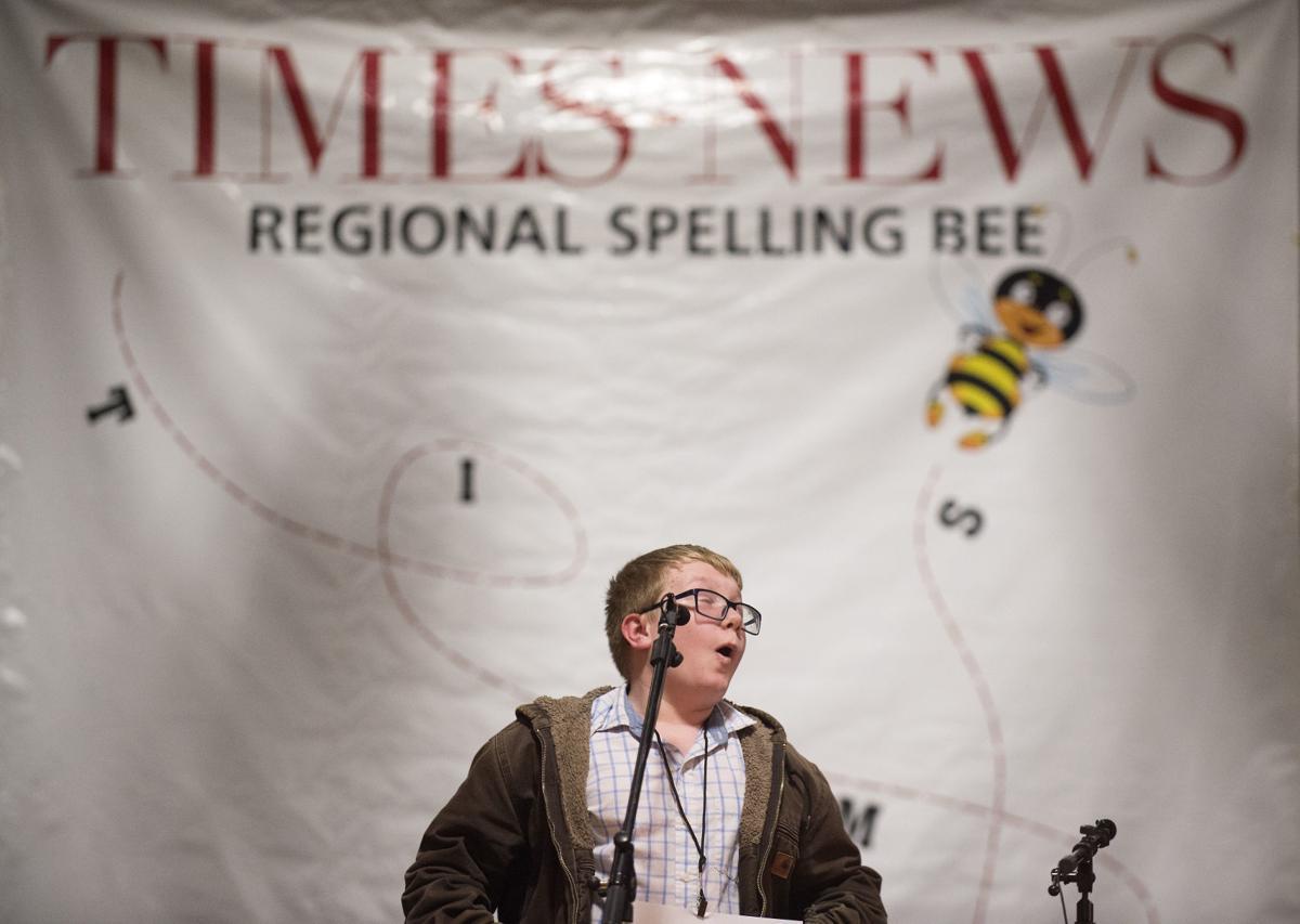 Times-News Regional Spelling Bee, 2018