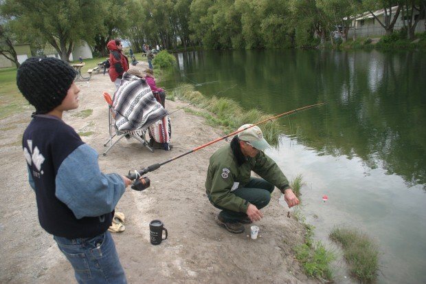 Find out where to borrow free fishing gear for kids this for Fishing stuff for kids