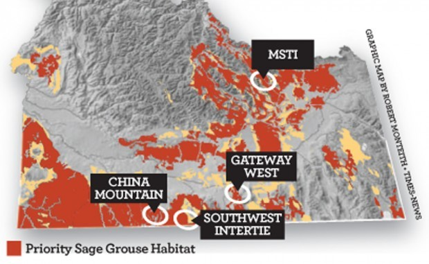 Energy Projects Affected by Sage Grouse Protection Efforts