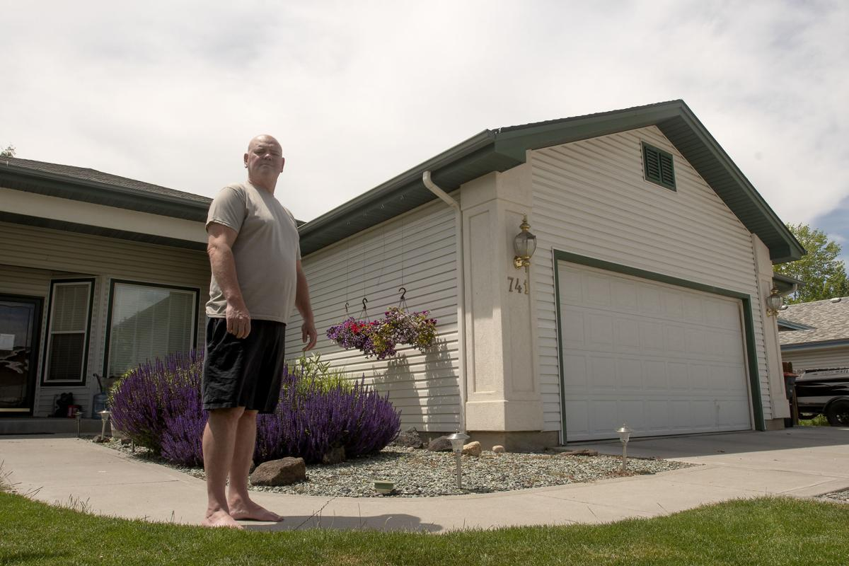 Shane Hohnhorst Stands In Front Of His House Friday June 14 2019 At Home Twin Falls S Lot Value Increased Nearly 20 000 According To