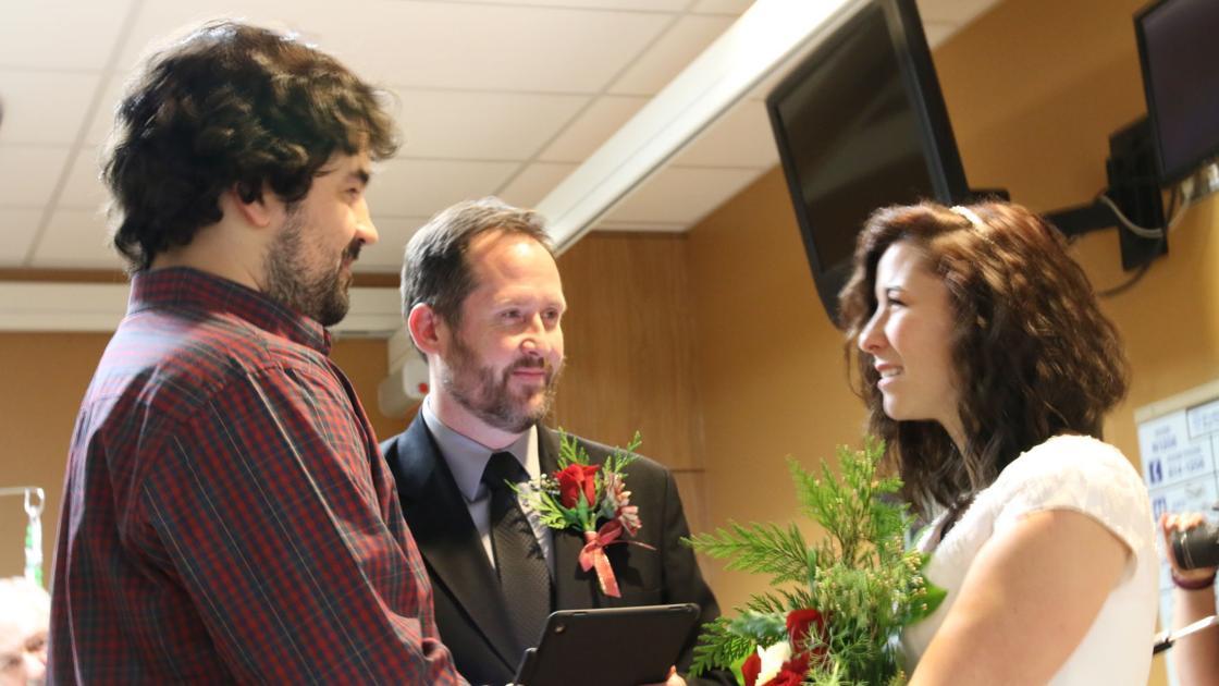 Facing a Deadly Battle, Young Couple Transforms Wedding Day Into Massive Fundraiser