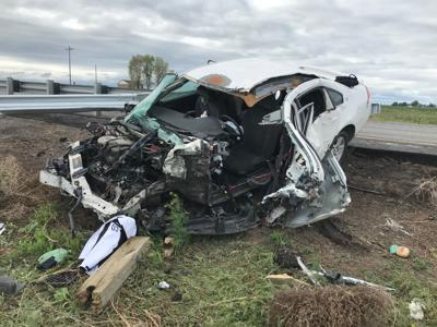 UPDATE: 2 taken to hospitals after I-84 crash near Hazelton