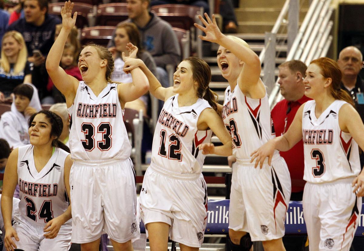 Girls Basketball - Dietrich Vs. Richfield