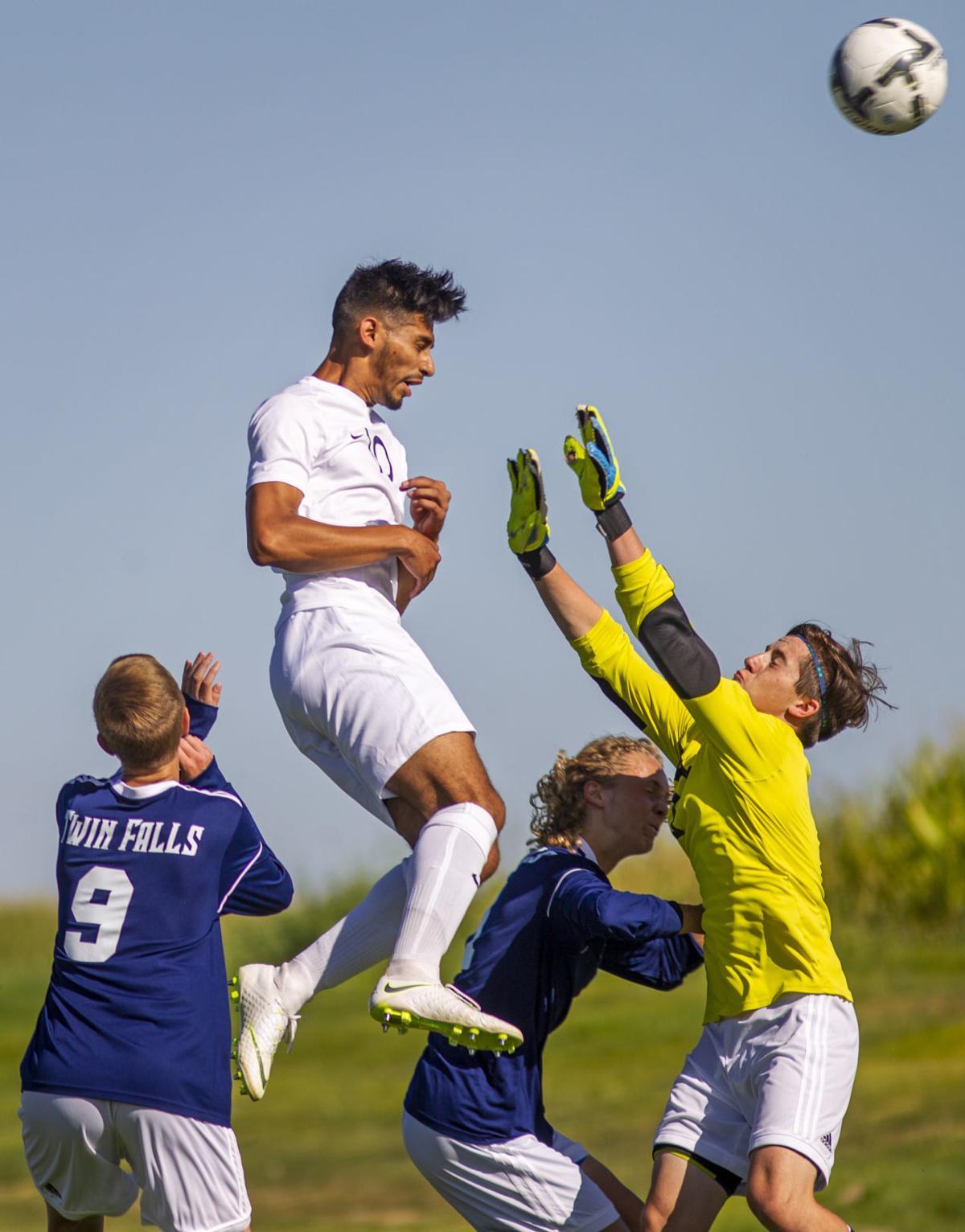 Twin Falls vs Jerome soccer