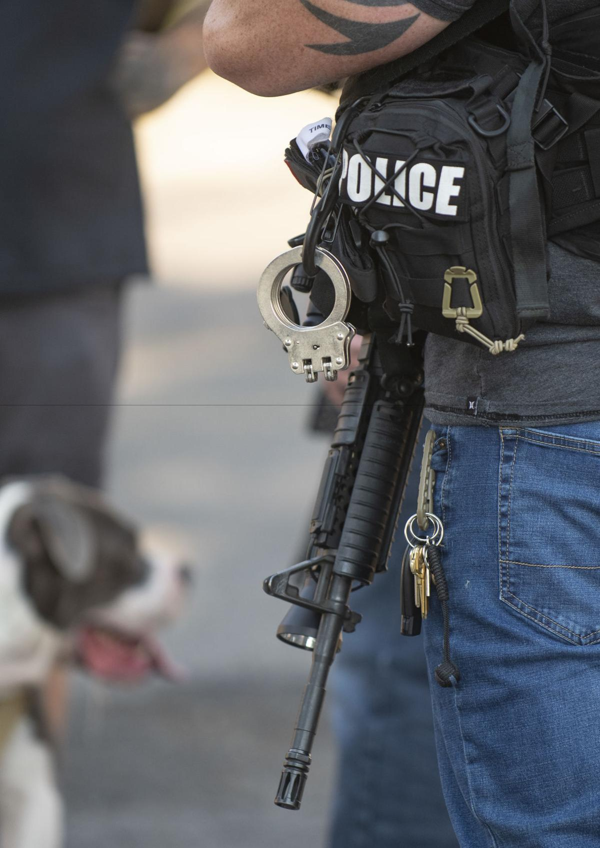 Law enforcement investigate shooting