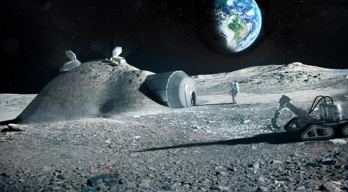 Moon Base Study