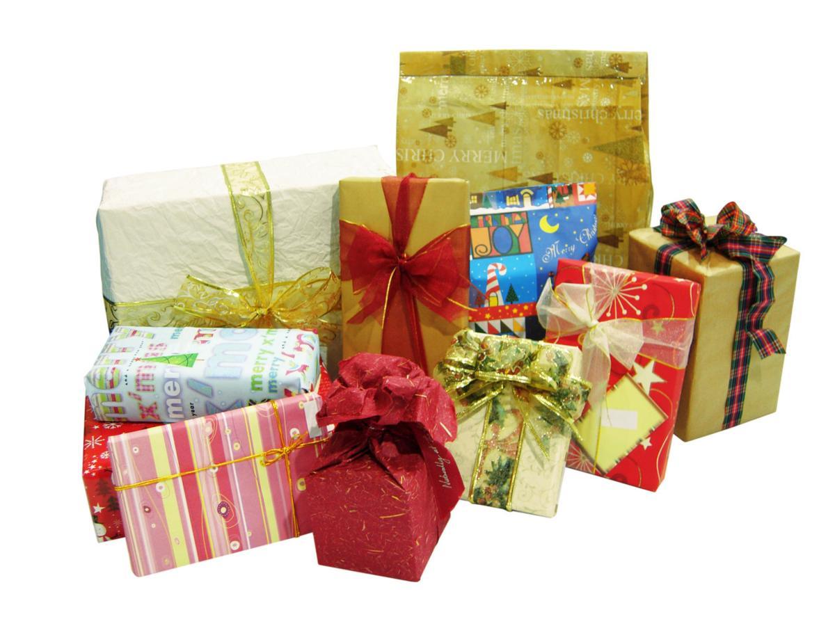 stock christmas gifts