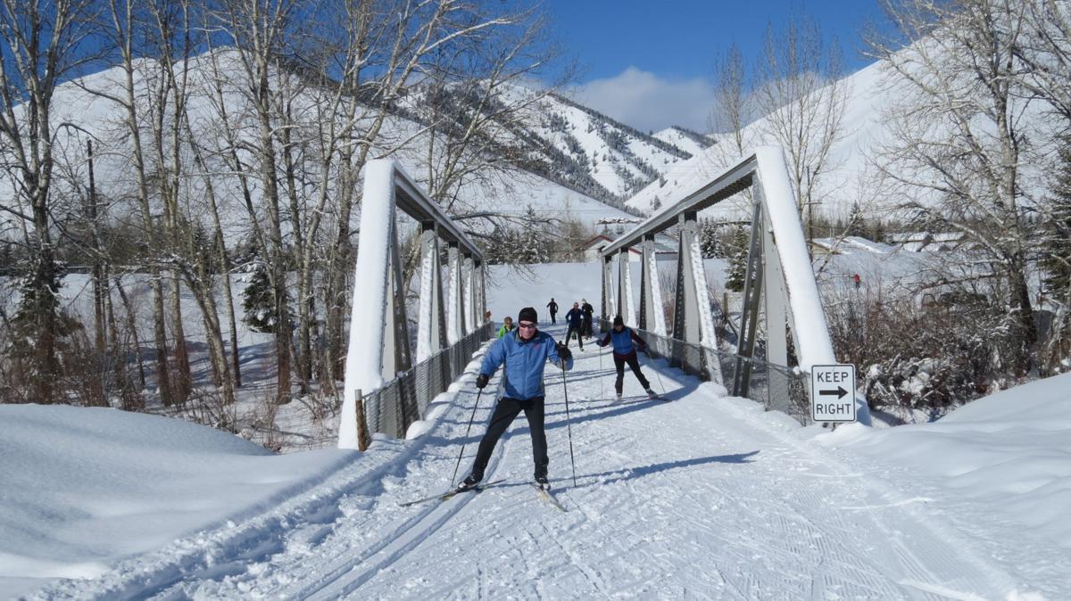 Rail Ski Sun Valley
