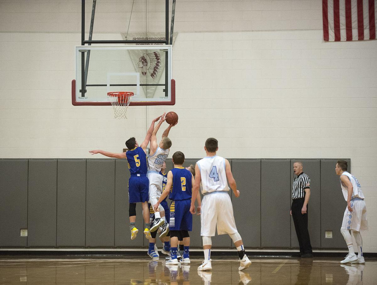 Boys Basketball - Carey Vs. Dietrich
