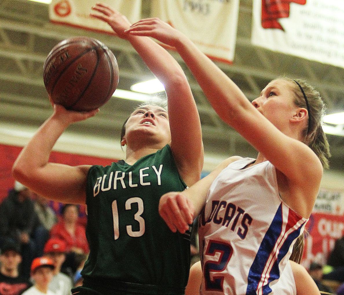 Filer Vs. Burley Girls Basketball