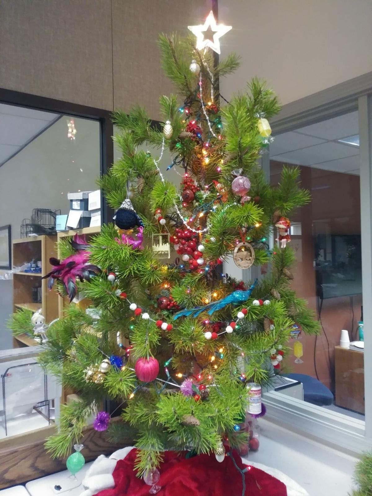 Times-News Christmas tree