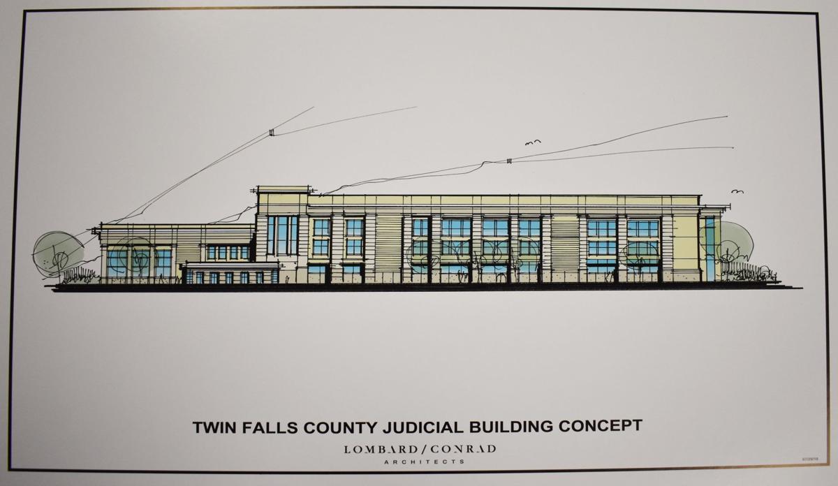 Judicial Building Drawing