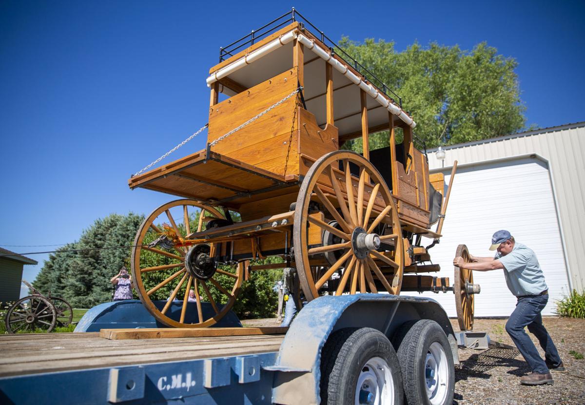 Donating a mud wagon