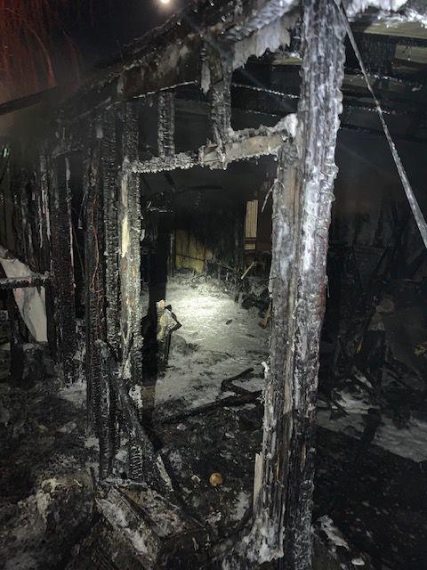 Burley house fire