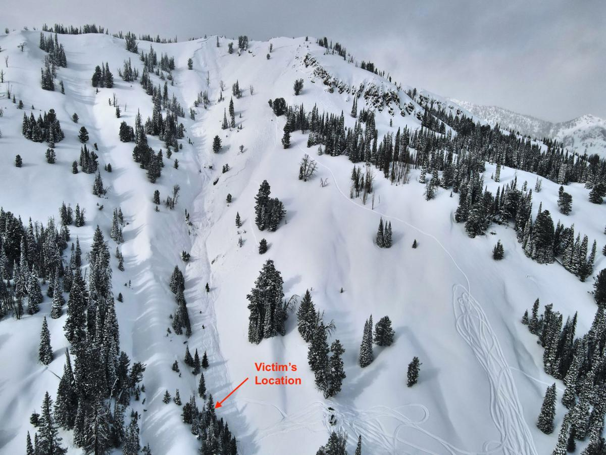 Smiley Creek avalanche