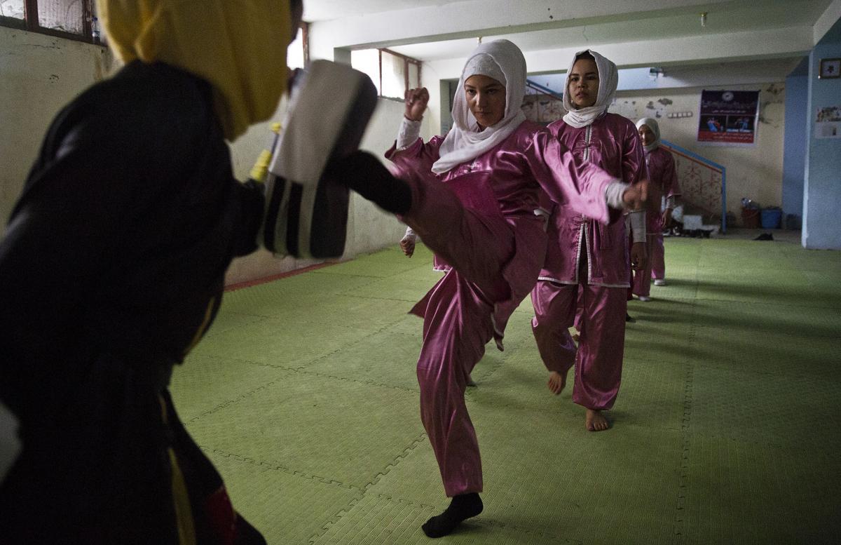 Afghanistan Shaolin Women