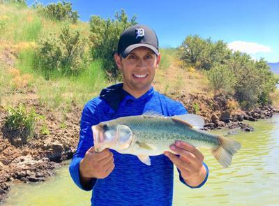Bass fishing in southern Idaho