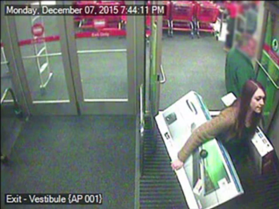 Target shoplifter