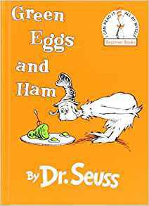 """Green Eggs and Ham"" by Dr. Seuss, publicity photo"