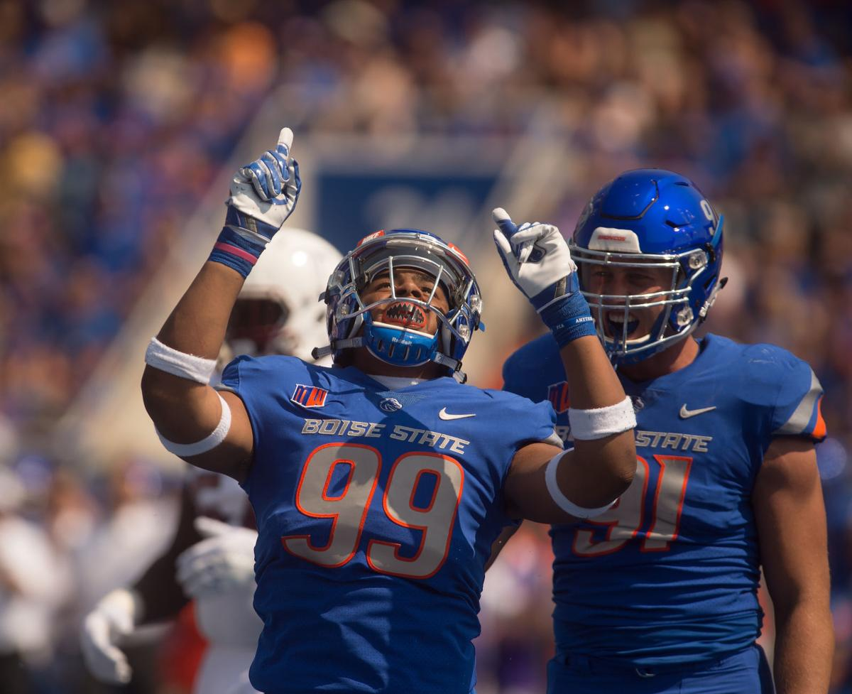 Football - Boise State Vs. Troy