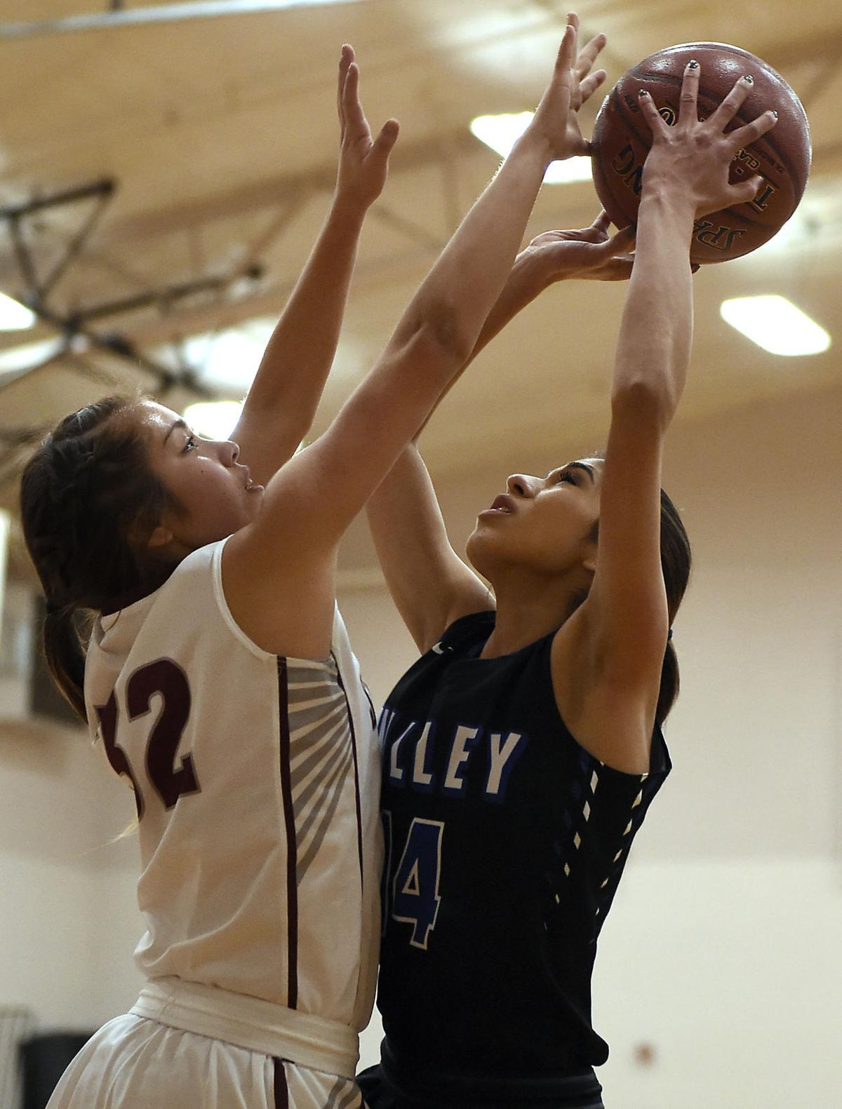 Girls Basketball - Valley Vs. Shoshone
