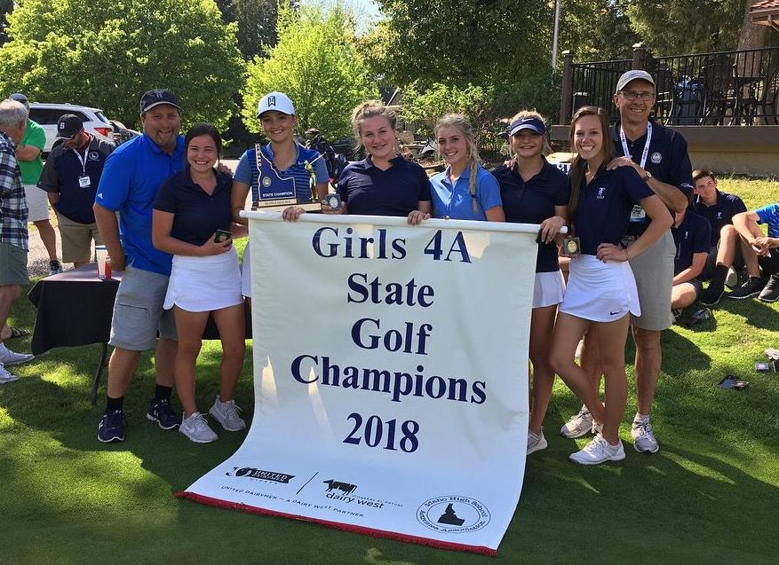 Twin Falls girls golf state title