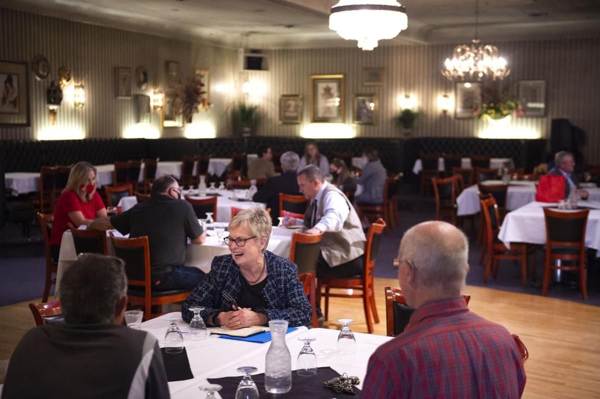 Speed dating, a public policy roundtable with legislative candidates
