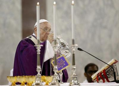 Pope meets with Mormon leadership in Rome to dedicate temple
