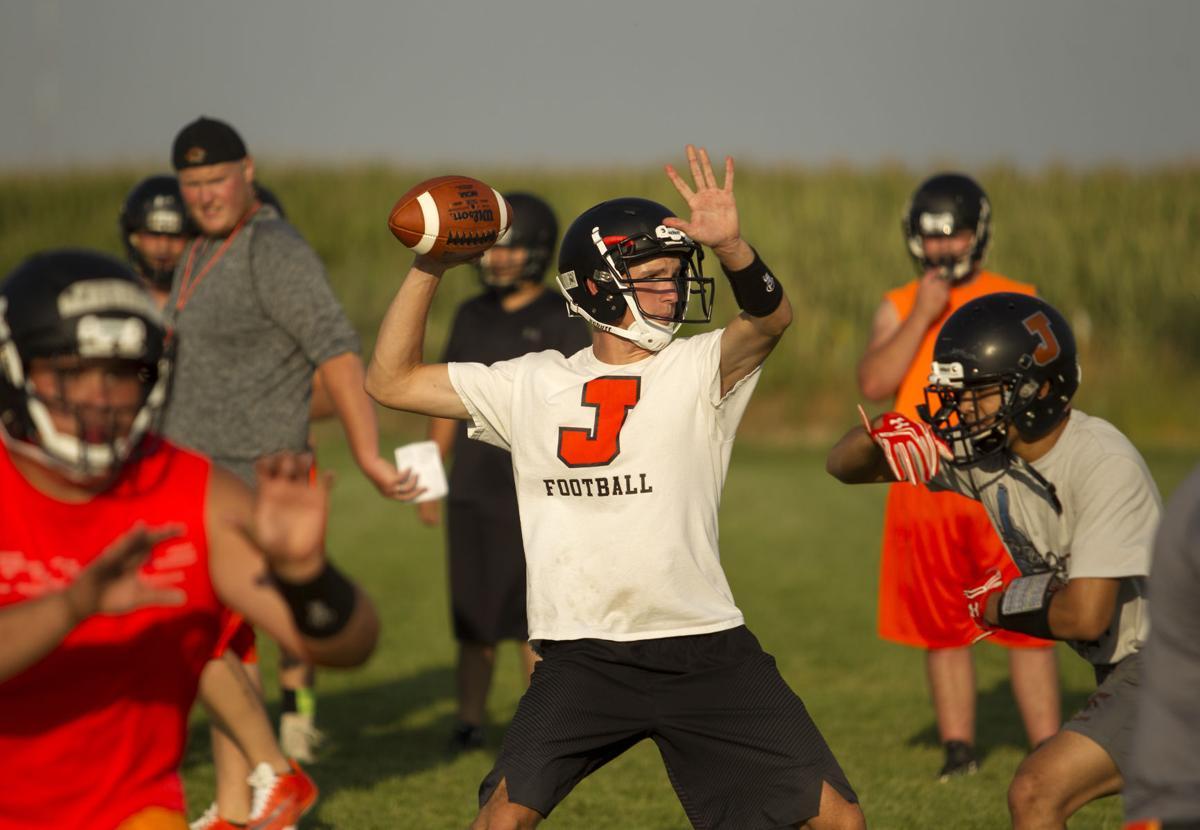 Jerome football, ready to play