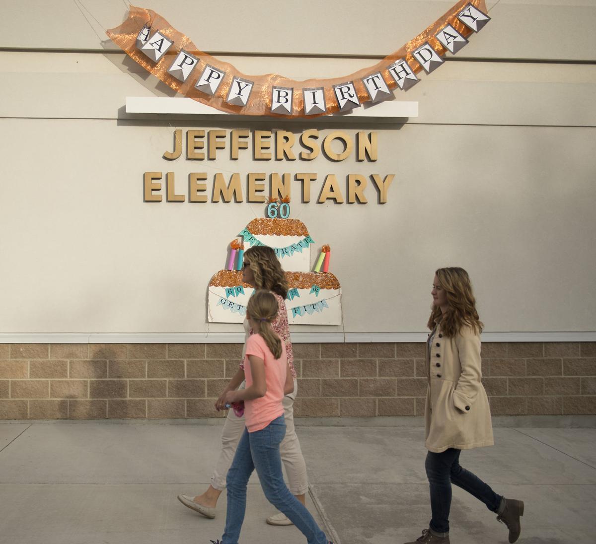 Jefferson Elementary turns 60