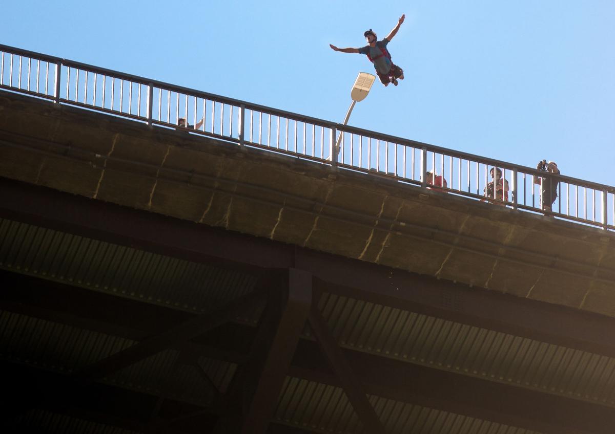 BASE Jumper Miles Daisher