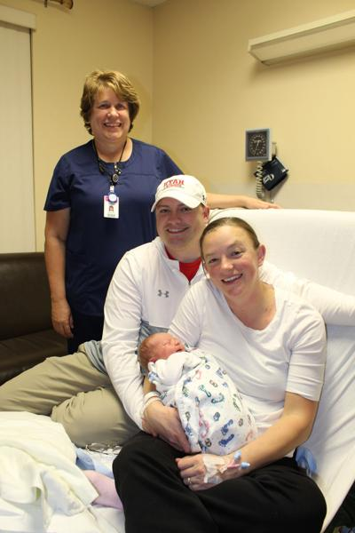 Cassia Regional Hospital's New Year's baby