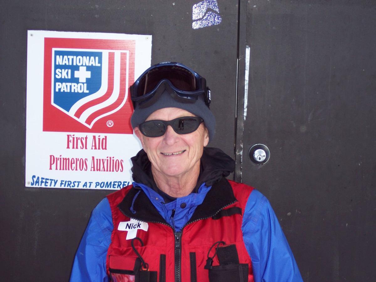 Nick Hallett ski patrol