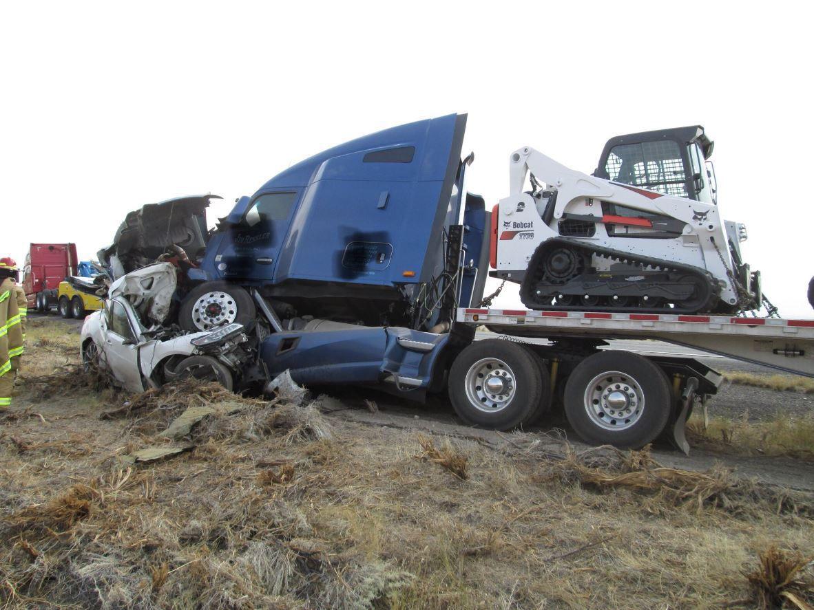 Fatal crash near Jackpot