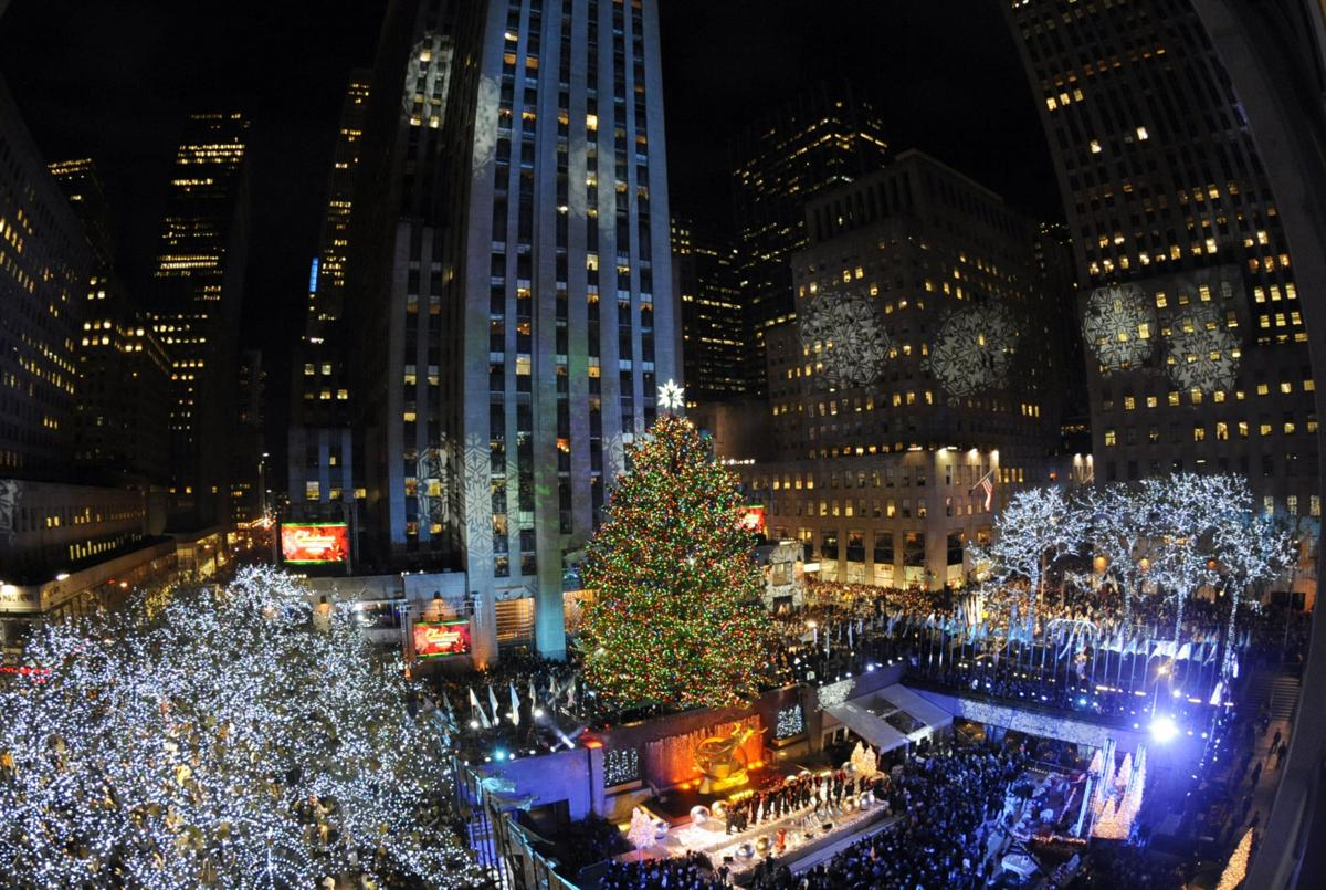 christmas tree lighting chicago. APTOPIX Rockefeller Center Tree Christmas Lighting Chicago H