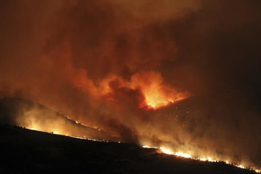 Study: Human-caused warming burns more Western forests