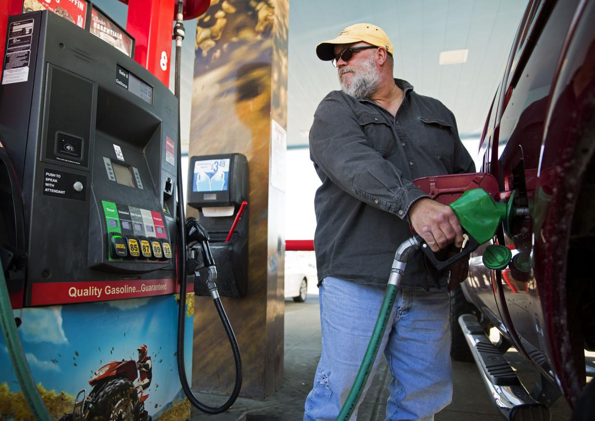 Gas prices, fueling up