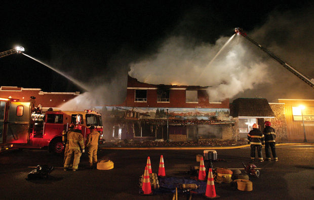 Jerome Officials Release Cause Of Big Downtown Fire