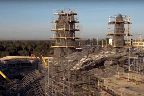 Check Out Disney's Star Wars Theme Park Under Construction In This Dramatic Drone Footage