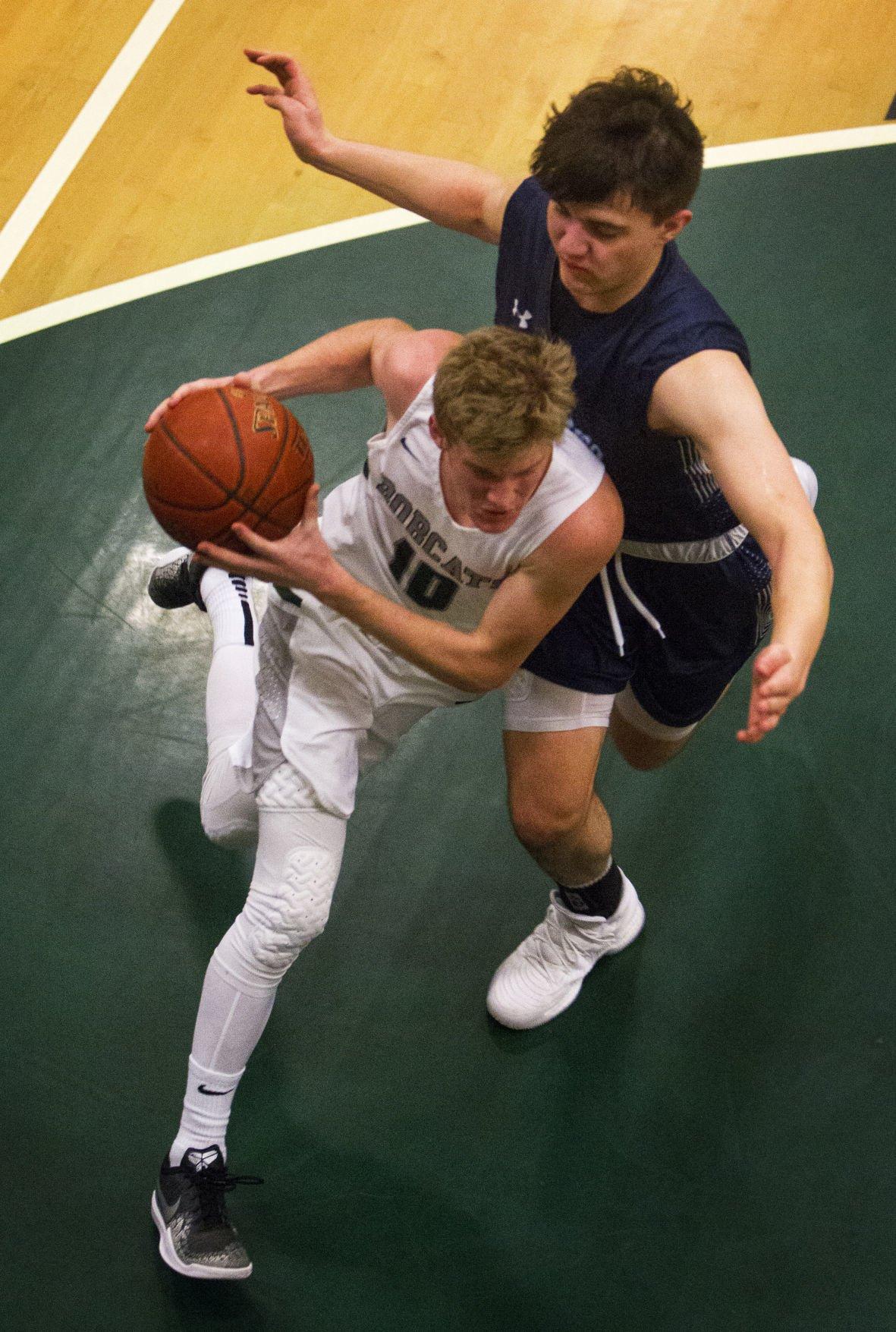 Burley vs Twin Falls boys basketball