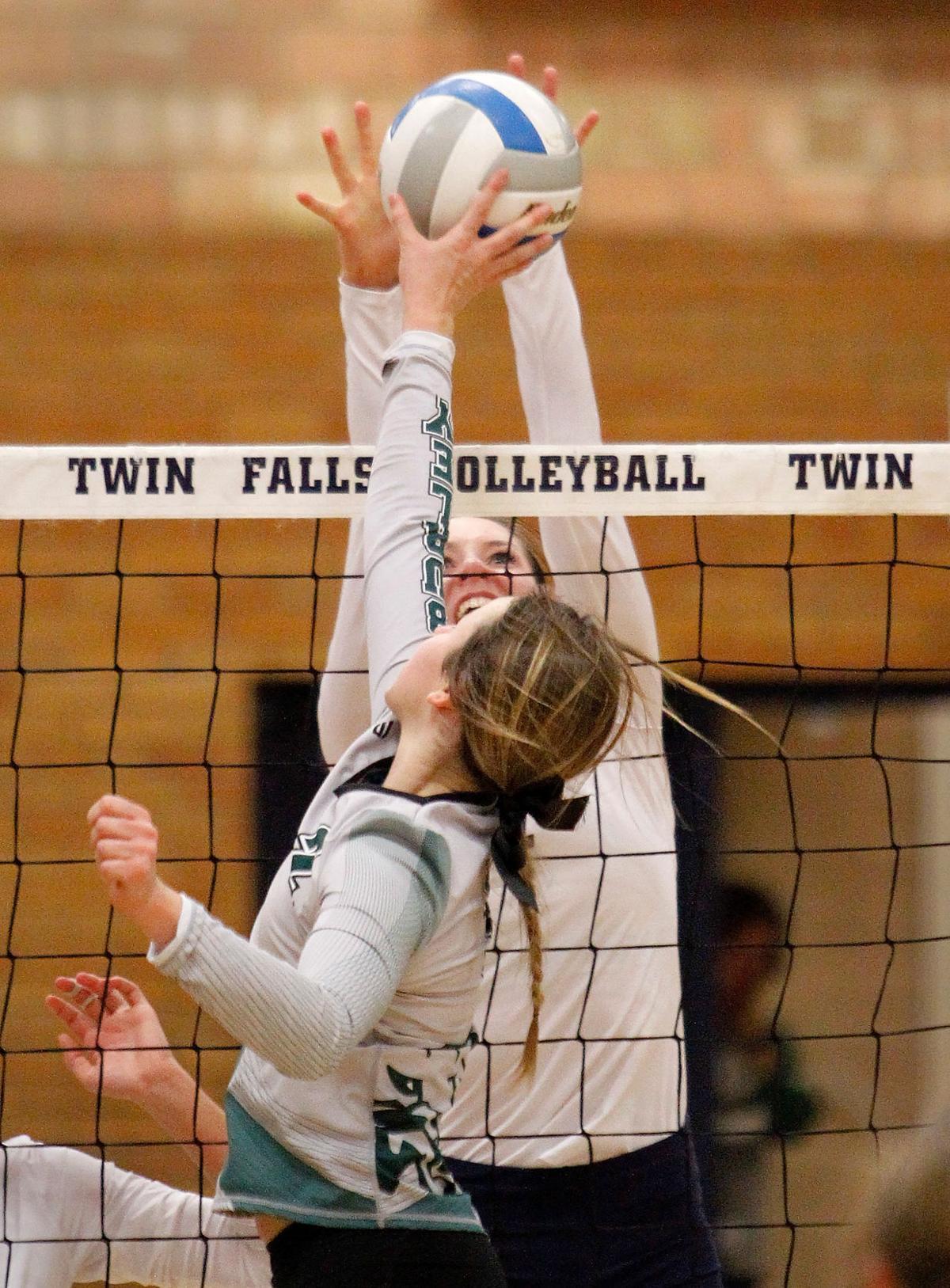 Volleyball - Burley Vs. Twin Falls