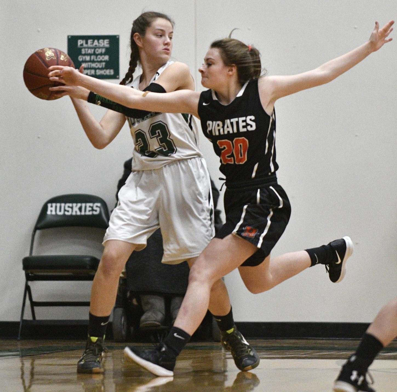Girls Basketball - Hagerman vs. Hansen