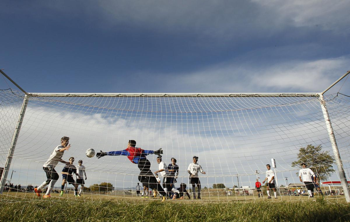 Boys Soccer Community School Vs. Bliss
